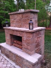 building outdoor fireplace life in the barbie dream house diy paver patio and