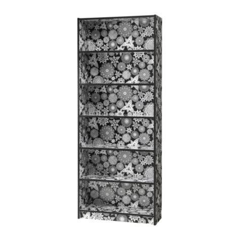 and new black and white ikea billy bookcase