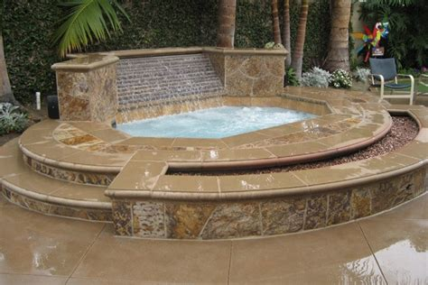 2016 hot tub installation costs average price to add a spa custom inground spa in orange county fully customized