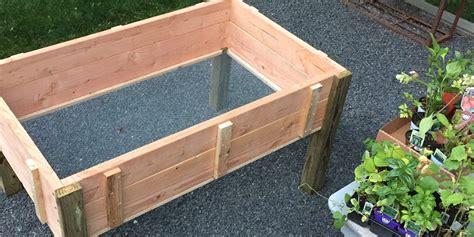 stand up planter box design plans jon peters art home