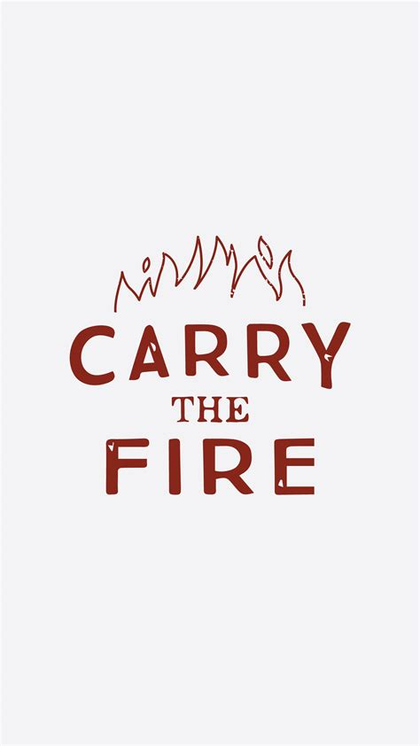 carrying the fire an my feedly carry the fire your personal shopping