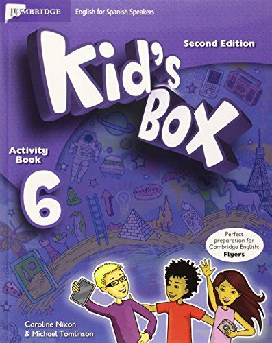 libro level 6 the woman libro kid s box for spanish speakers level 6 activity book with cd rom and my home booklet