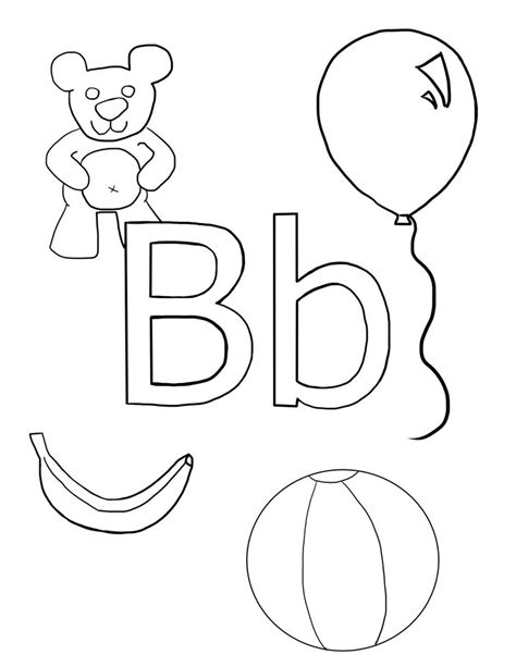 b bear coloring page 100 free coloring page of a baby bear color in this b