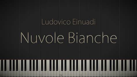 tutorial piano nuvole bianche nuvole bianche ludovico einaudi jacob s piano