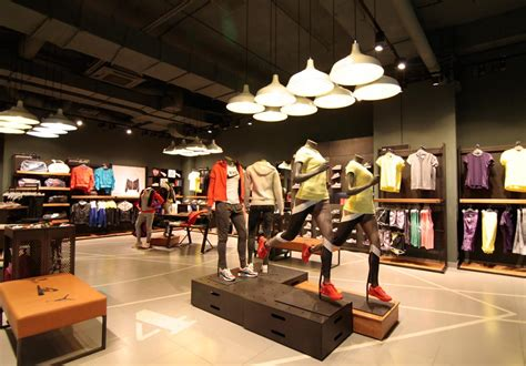 Shop Lighting by Nike Store Lighting Project