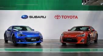 Subaru Brz Vs Toyota Gt86 Subaru Brz And Toyota Gt 86 Production Underway Photo