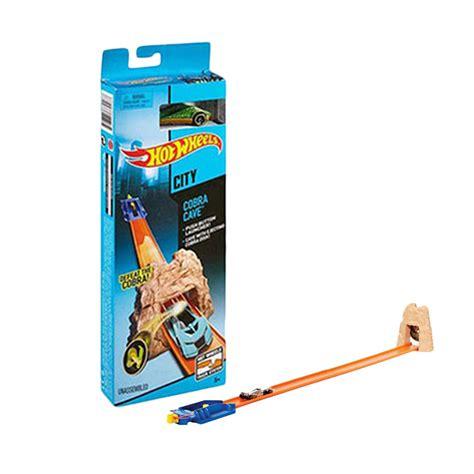 Produk Mainan Anak Anak Kecil Mainan Track Set Track Racing 8002 jual hotwheels blr01 cobra cave hw elementary track set mainan anak harga kualitas