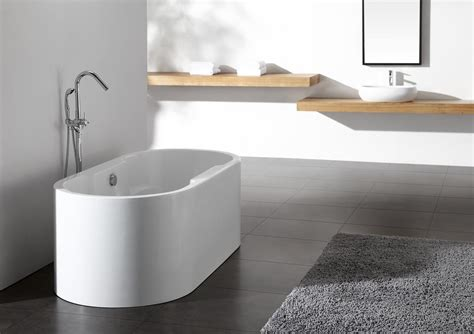 bathtubs freestanding modern ignazio acrylic modern freestanding soaking bathtub 68