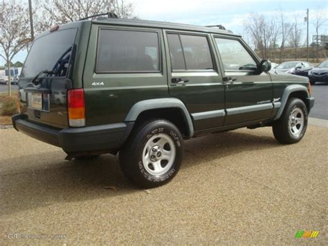 1998 emerald green pearl jeep sport 4x4 52396017 photo 5 gtcarlot car color