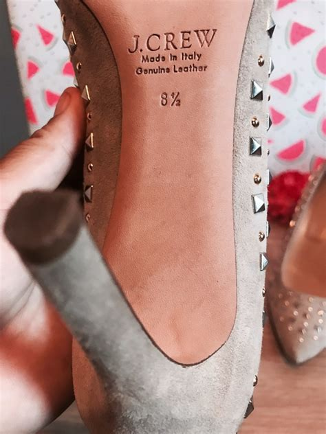 pink shoe cleaning crew j crew pink everly studded pumps 8 5 vinted