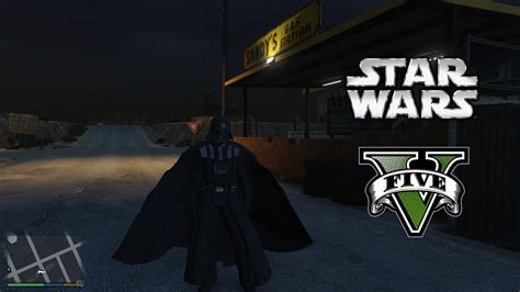 gta 5 starwars mod star wars darth vader ped gta5 mods com