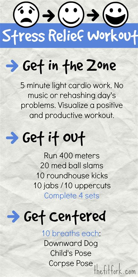 Stress Relief how stress affects running and workouts plus mood boosting