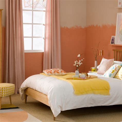 peach and white bedroom bedroom colour schemes colourful bedrooms bedroom colours