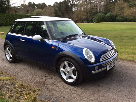 Back For Mini Blue is this 2003 53 mini cooper in blue