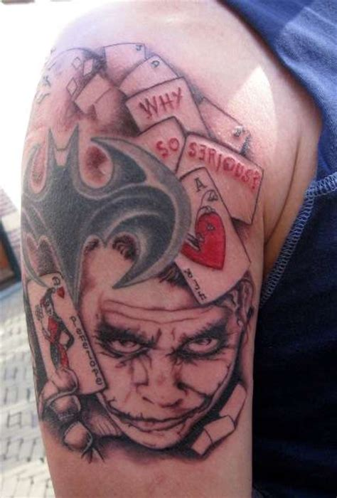 joker tattoo real batman joker tattoo design real photo pictures images