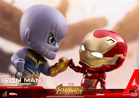 Figure Iron 3 Cosbaby Toys Mainan Toys toys marvel infinity war cosbaby s figures figures