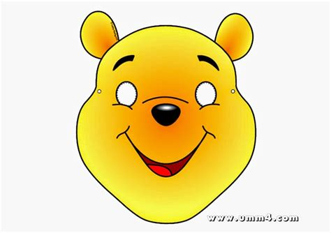 winnie the pooh free printable mask oh my in