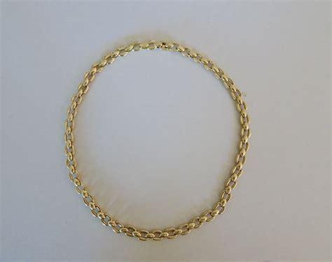 cadena cartier valor cadena unisex cartier de oro de 18 kt con eslabones