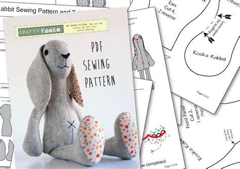 pattern sewing bunny stuffed animal pattern bunny www pixshark com images