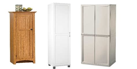 broom storage cabinet wood best free standing broom closet cabinets