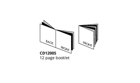 Jewel Case Templates Cd Case Templates Cd Cover Templates 12 Page Booklet Template
