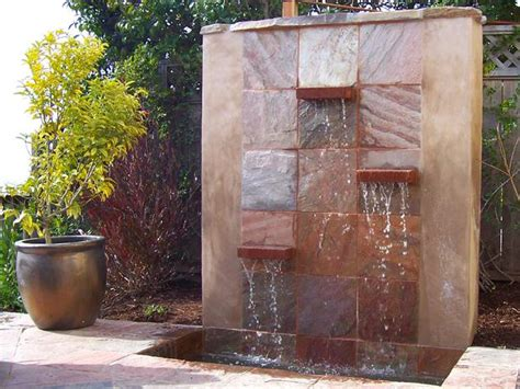 Diy Design Outdoor Fountains Ideas Indoor Wall Design Ideas Ideas Diy Wall Waterfall Modern Building Design