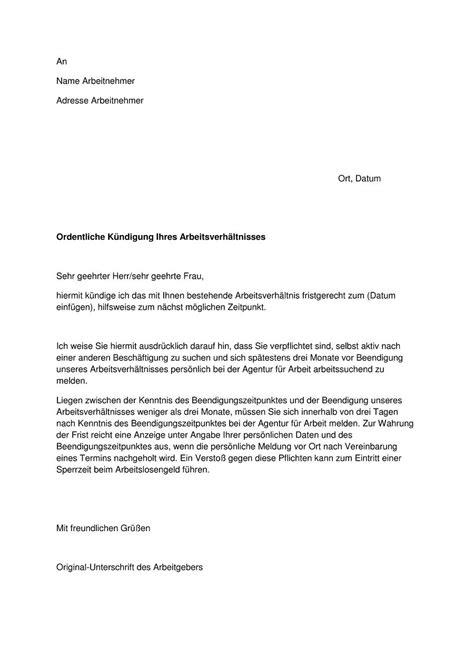 kuendigung vorlagen mietvertrag kuendigung vorlage fwptccom