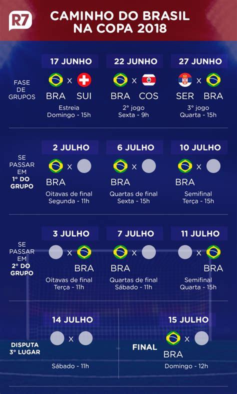 vai ser feriado nos dias dos jogos do brasil na copa do
