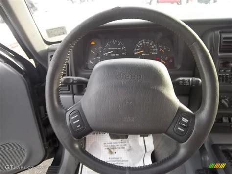 Jeep Steering Wheel 1998 Jeep Classic 4x4 Steering Wheel Photos