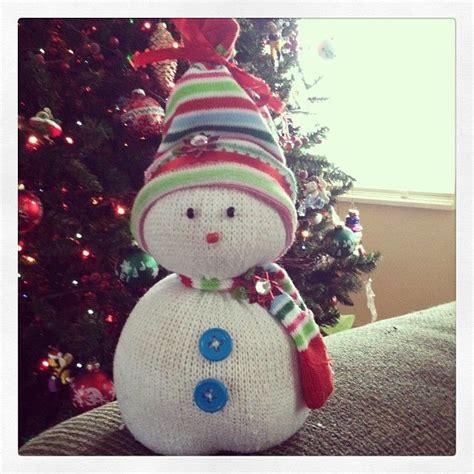 frozen sock snowman 1000 images about noel chaussettes on winter
