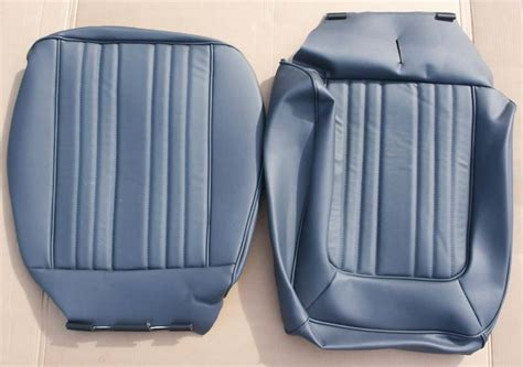 bronco seat covers bronco low back vinyl seat covers blue pair
