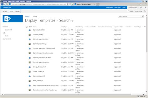 Sharepoint Search Migration Part 4 Search Result Types And Display Templates Jeroen S Web Sharepoint Search Results Display Templates