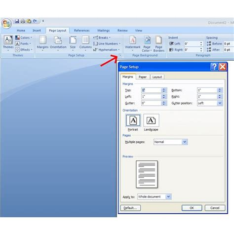 Definition Landscape Microsoft Word How To Print Portrait And Landscape Pages In The Same Word