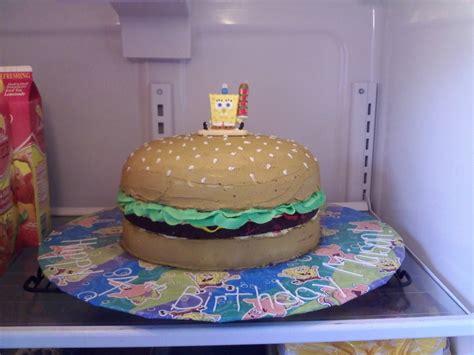 patty cakes krabby patty cake cakecentral