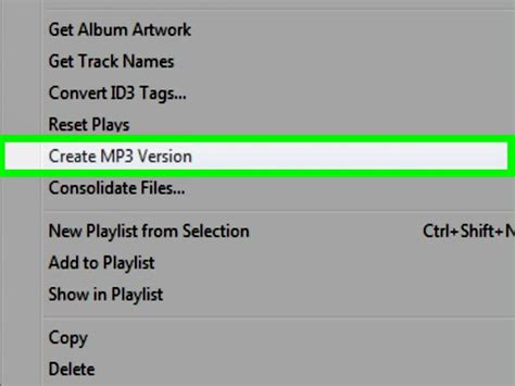 how to convert mp4 audio files to mp3 using itunes version how to convert mp4 files to mp3 12 steps with pictures