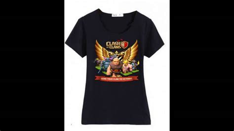 T Shirt Coc Logo coc clash of clans t shirt for