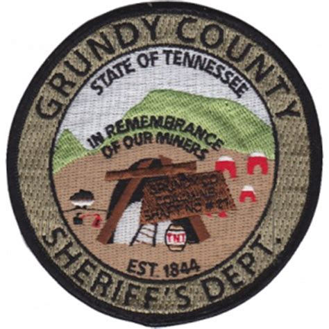 Grundy County Warrant Search Deputy Sheriff Anthony Shane Tate Grundy County Sheriff S Department Tennessee