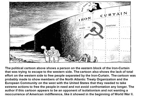 iron curtain political cartoons political cartoons the cold war ppt video online download