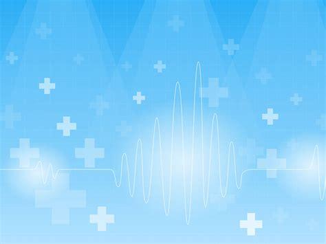 A Blue cardiogram on a blue backgrounds blue health