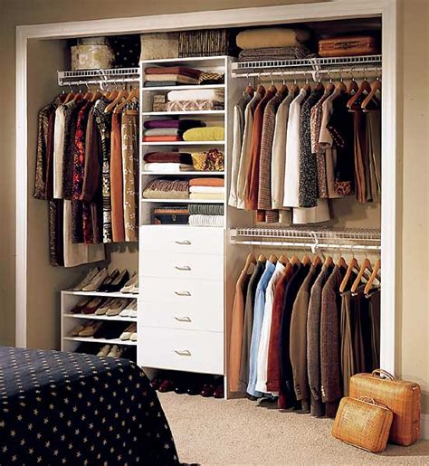 organizing small closet small closet organization ideas image 01