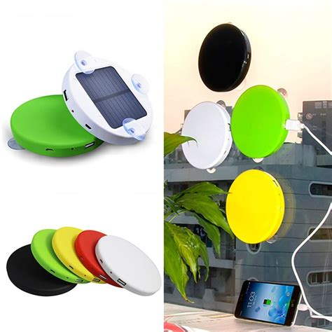solar powered phone charger sticks to window 1800mah 5200mah window stick solar charger for mobile