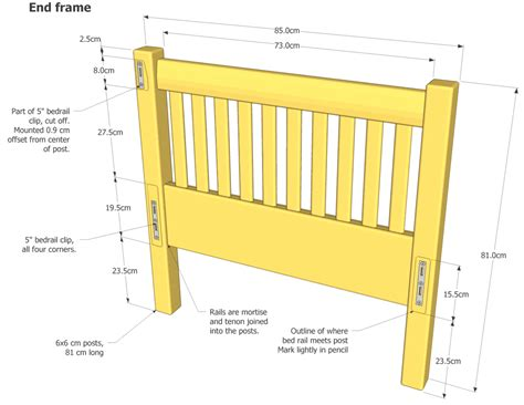 how to make a daybed frame daybed plans