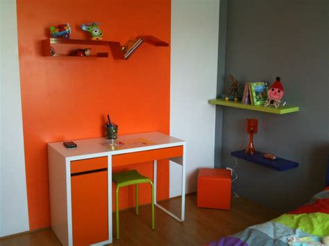 chambre enfant orange best chambre garcon orange et gris pictures matkin info