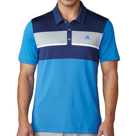 Adidas Exclusive Shirt adidas golf 2017 climacool 174 chest block polo mens