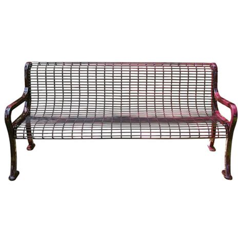 leisure craft benches commercial leisure craft roll formed wire outdoor park