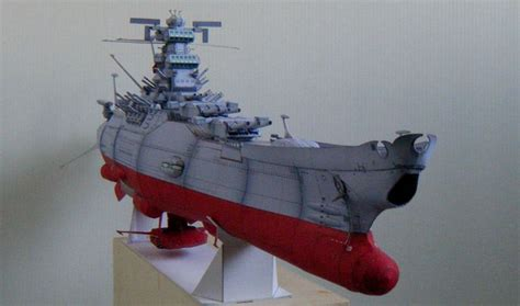 Papercraft Battleship - space battleship yamato 2199 1 500 scale paper craft
