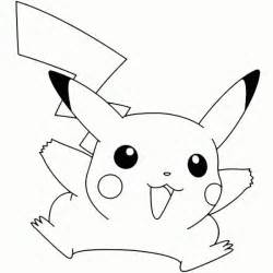 what color is pikachu pikachu coloring pages getcoloringpages