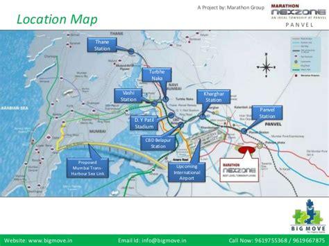 layout plan of navi mumbai airport marathon nexzone tower panvel navi mumbai project by