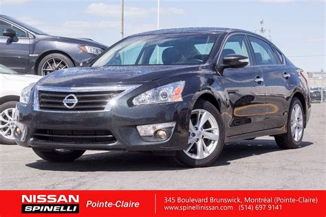 used nissan altima 2013 used 2013 nissan altima sl for sale in montreal p7189