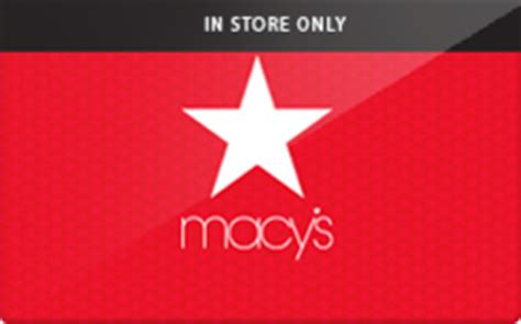Can I Exchange A Macy S Gift Card For Cash - macys in store only macys in store only gift card shop your way online shopping